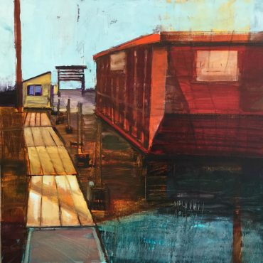 Boatyard II by Lynn McDevitt-Ray