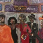 "DaNice D. Marshall, ""Betty's Director,"" Oil on Canvas, 20""x24"", Not for Sale"