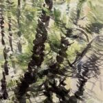 Valerie Jayne, Branches and Ripples, Watercolor/Gouache on D'Arches, 2014, $450